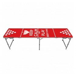Table Beer Pong Keep Calm & Play - Original CUP