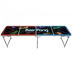 Table Beer Pong Light Neon - Original CUP