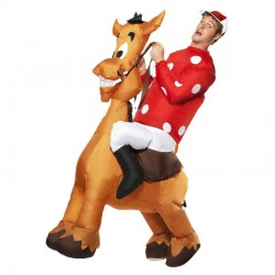 Costume Gonflable Jockey - Original CUP