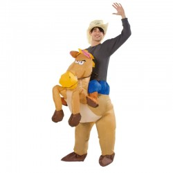Costume Gonflable CowBoy - Original CUP