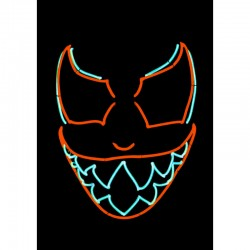 Masque Neon - Devil - Original Cup