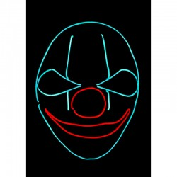 Masque Neon - Clown - Original Cup