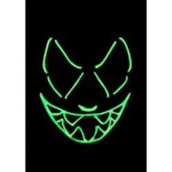 Masque Neon - Green - Original Cup