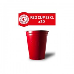 Gobelets Rouges 53cl. x 20 - Original CUP