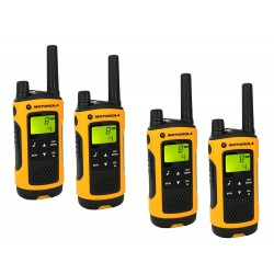 Location Talkie Walkie Motorola T80 Extreme Quad x4