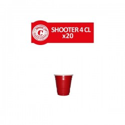 Shooters Rouges 4cl. x 20 - Original CUP